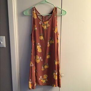 Blush Lemon Dress
